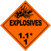 HAZMAT Class 1-1 Explosives