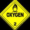 HAZMAT Class 2-2 Oxygen (Alt)