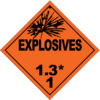 HAZMAT Class 1-3 Explosives
