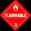 HAZMAT Class 3 Flammable Liquids