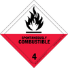 HAZMAT Class 4-2 Spontaneously Combustible Solid
