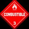 HAZMAT Class 3 Combustible