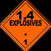 HAZMAT Class 1-4 Explosives