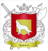 Redmoon Crest Badge