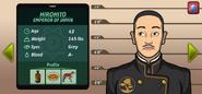 Emperor Hirohito suspect complete