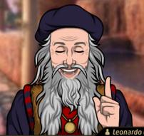 Leonardo en La Soberbia Precede a la Ruina