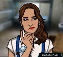 Michelle pensando 1