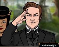 Arthur Saludando
