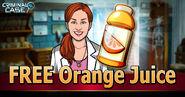 Free Orange Juice