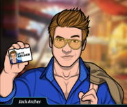 JackArchershowinghiscard
