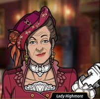 Lady Highmore en De Monos y Medusas