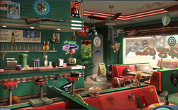 4. Diner Counter