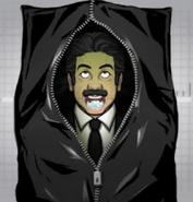 Bernie Silverman's Body