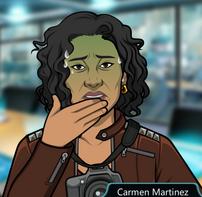 Carmen sudando 2