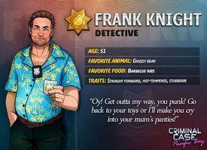 Descripción de Frank