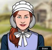 Grace como Amish