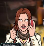 Marina Telefonda Tırsmış