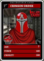 Crimson Order Card