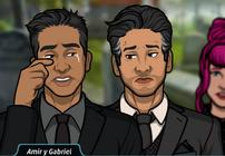 Amir y Gabriel 1