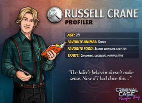 Russell Crane Profili