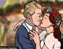 Charles y Madeline - boda 3