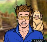 Jack y un mono