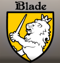 Escudo de armas de la familia Blade