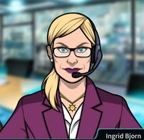 Ingrid en su nuevo estilo 2