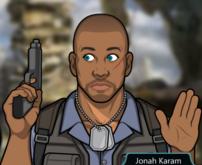 Jonah con su pistola 1