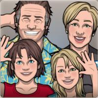 La familia Knight