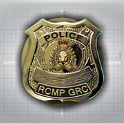 Mountie Badge