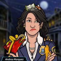 Andrea Cubierta de Basura