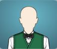 Case 107 Reward - Croupier Uniform