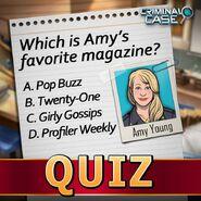 Amy Quiz