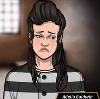 Adelia uniforme prisión