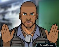 Jonah calmando