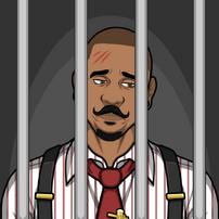 Troy en prisión