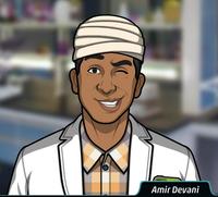 Amir Llevando un vendaje en la cabeza4
