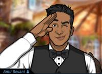 Amir Saludando