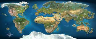 Mapa de la Edición Mundial(1)