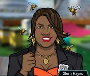 Gloria Rodeada de abejas4