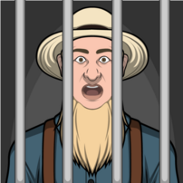Ezekiel Hersberger encarcelado