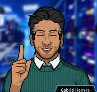 Gabriel Indicando