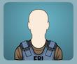 Mavi FBI Hücum Ceketi