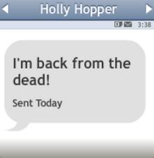 Mensaje de Holly