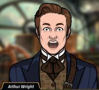 Arthur shockeado