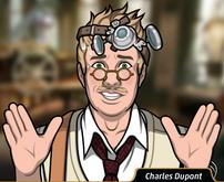 Charles sudando2