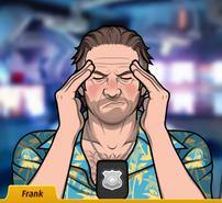 Frank con dolor de cabeza