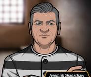 Jeremiah in prison uniform
