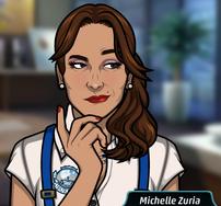 Michelle sonriendo 1